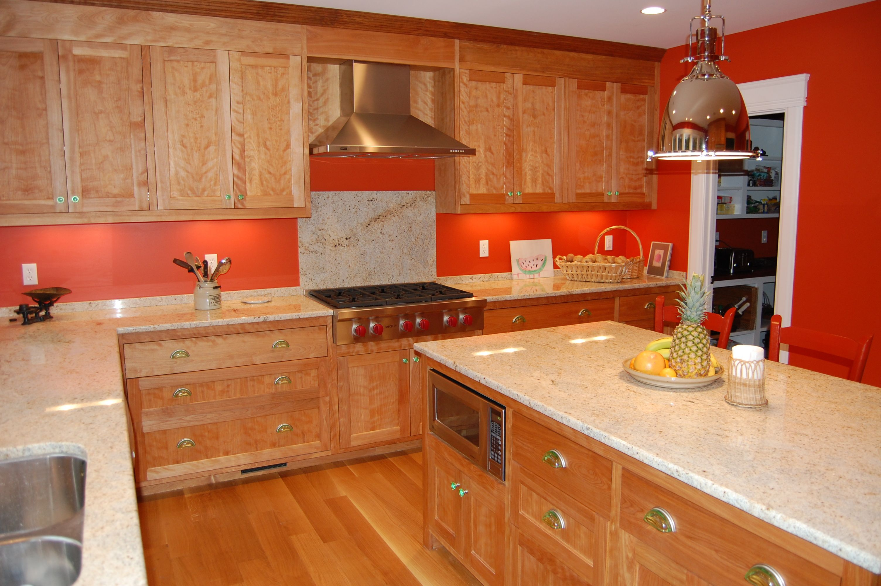 Charles shafer kitchen renovation bath madison ct 06443 for Birch wood kitchen cabinets